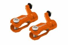 Rakonheli Hauptblatthalter Set CNC Alu in orange für Blade Nano CPX/CPS