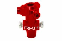 Rakonheli Dreiblattkopf Zentralstück rot aus CNC Alu für Blade Nano CPX/CPS