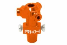 Rakonheli Dreiblattkopf Zentralstück orange aus CNC Alu für Blade Nano CPX/CPS