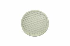 Reflektorabdeckung geriffelt und leicht milchig für 12mm Reflektor