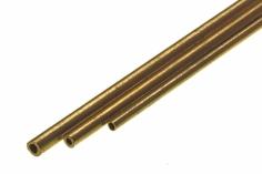 Messing Rohr 2,5mm Durchmesser 1 Meter