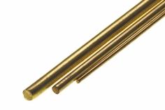 Messing Stab 5,0mm Durchmesser 1 Meter