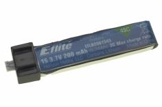 200mAh 1S 3.7V 45C LiPo Battery