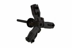 3-Blatt Heckrotor-Einheit BLACK MATTE für Goblin 630/700/770/Competition/Speed