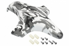 Rakonheli Tuning Haube aus Fiberglas in camouflage graufür Blade Inductrix 200