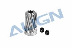 Align Motorritzel schrägverzahnt 12 Zähne für T-REX 700/800