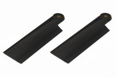 HeliTec der Blattschmied Scale Heckrotorblätter 2Blatt in schwarz 90 mm