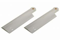 HeliTec der Blattschmied Scale Heckrotorblätter 2Blatt in weiß 90 mm