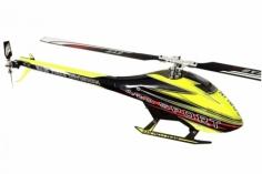 Goblin 420 Sport schwarz/gelb mit Rotorblättern