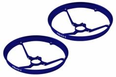 Rakonheli 7mm Motor Rahmen Propellerschützer in blau für Blade Inductrix