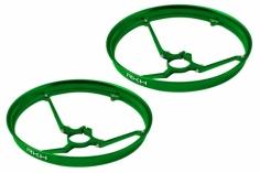 Rakonheli 7mm Motor Rahmen Propellerschützer in grün  für Blade Inductrix
