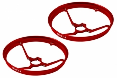 Rakonheli 7mm Motor Rahmen Propellerschützer in rot für Blade Inductrix