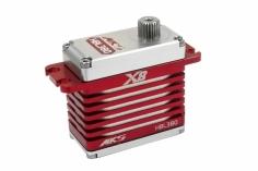 MKS Servo brushless HV Digital HBL 380 X8 - Taumelscheibenservo