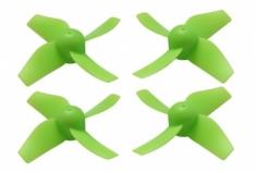 Rakonheli Propellerset in grün 4 Stück für Blade Inductrix