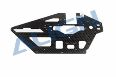 Align 470L Riemenantrieb Chassis Seitenteil Carbon links