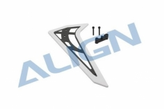 Align 470L Vertikales Leitwerk Carbon in weiss