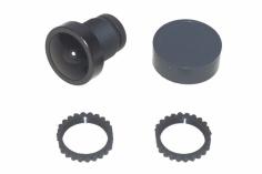Foxeer Ersatz Linse für Kameras 2,5mm 1/3 Inch Gewinde IR-Block