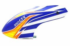 Lionheli Kabinenhaube blau-weiß-gelb Design für Balde 250CFX