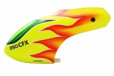 Lionheli Kabinenhaubegelb-rot-grün Design für Balde 250CFX