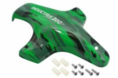 Rakonheli Haube in grün-camouflage Design für Blade Inductrix 200