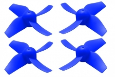 Rakonheli Propellerset in blau 4 Stück für Blade Inductrix