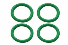Rakonheli Motorkabelhalter O-Ring 6x1mm in grün für Blade Inductrix