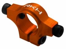 Rakonheli Heckstrebenhalter Alu in orange für Blade 250CFX