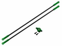 Rakonheli Heckstreben Carbon/Alu in grün für Blade 250CFX