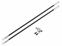 Rakonheli Heckstreben Carbon/Alu in silber für Blade 250CFX