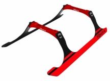 Rakonheli Landegestell Carbon in rot für Blade 250CFX