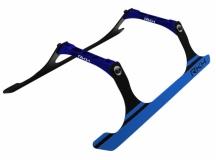 Rakonheli Landegestell Carbon in blau für Blade 250CFX