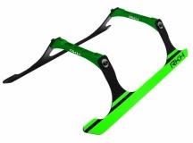 Rakonheli Landegestell Carbon in grün für Blade 250CFX