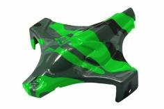 Rakonheli Haube in grüner camouflage Optik für Blade Inductrix