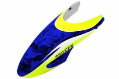 Rakonheli Kabinenhaube blau/gelb Design für Balde 250CFX