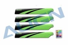 Align Hauptrotorblätter 120mm in grün für T-REX 150X