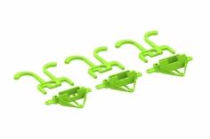 Lynx Kamerahlter mit Schutzbügel 7°/15°/20° in grün für Blade Inductrix FPV