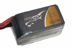 TATTU 850mAh 14.8V 75C 4S1P Lipo Akku XT60