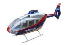 450er Rumpf Eurocopter EC 135 in österreichischer Polizei Lackierung