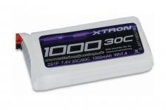 SLS Akku XTRON 1000mAh 2S1P 7,4V 30C/60C