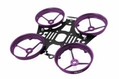 Rakonheli Tuning Rahmen aus carbon in violet für Blade Inductrix 200