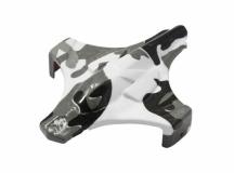 Rakonheli Haube in weißer camouflage Optik für Blade Inductrix