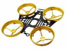 Rakonheli Tuning Rahmen aus carbon in gelb für Blade Inductrix 200