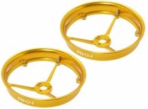 Rakonheli Propellerschutz aus Alu in gelb für Blade Inductrix 200