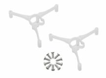Rakonheli Motorhalterung für den 6mm CNC Delrinrahmen für Blade Inductrix