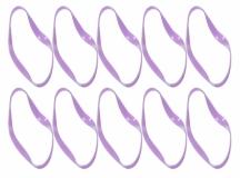 Rakonheli Akkubefästigungsbänder in lila für den Tuningrahmen V2 für Blade NQX2