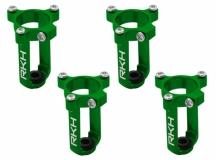 Rakonheli 7mm Motorhalter und Landegestell grün für den Tuningrahmen für NQX2