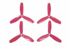 HQ Dreiblatt Propeller Durable Props V2 Glasfaser verstärkt in pink 5x4,5x3 je