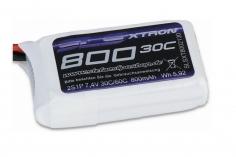 SLS Akku XTRON 800mAh 2S1P 7,4V 30C/60C