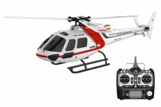 XK Innovations Hubschrauber K123 Scale-Helicopter AS350 RTF mit FTR