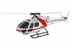 XK Innovations Hubschrauber K123 Scale-Helicopter AS350 BTF mit FTR